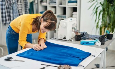 How to Sew A Simple Skirt with Elastic Waistband