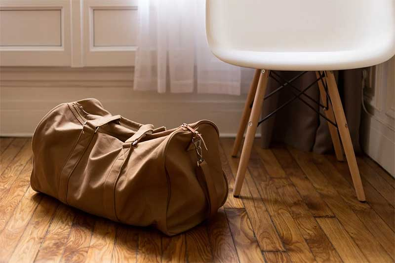 HOW TO MAKE A TRAVEL BAG AT HOME