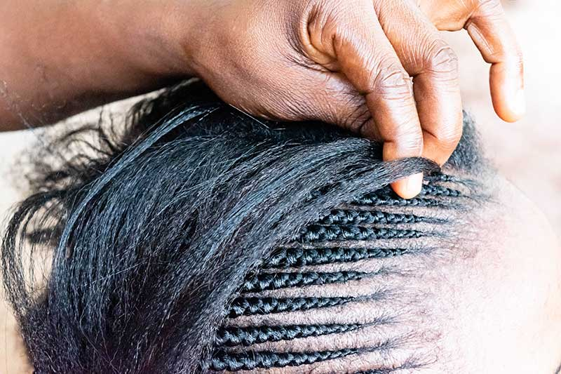 How to Sew-In Weave